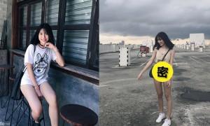 大马正妹Gladys Wong, 百多块裤子穿出门,网友:像底裤!