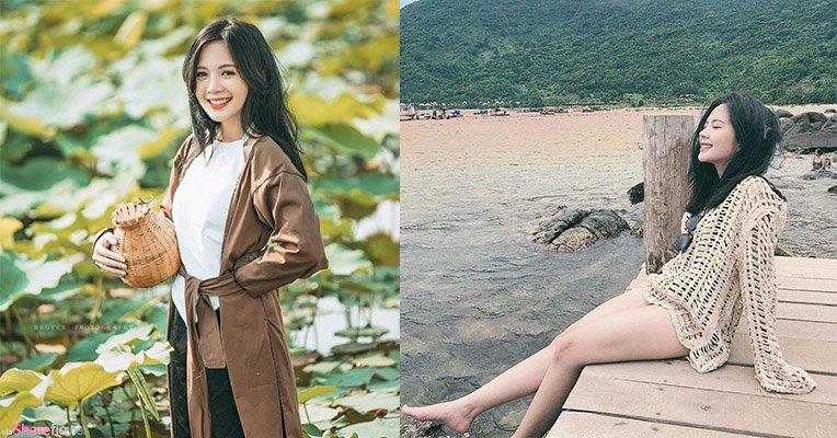 越南大学生正妹,甜美迷人