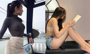 越南姐姐浑圆厚臀,身材好辣