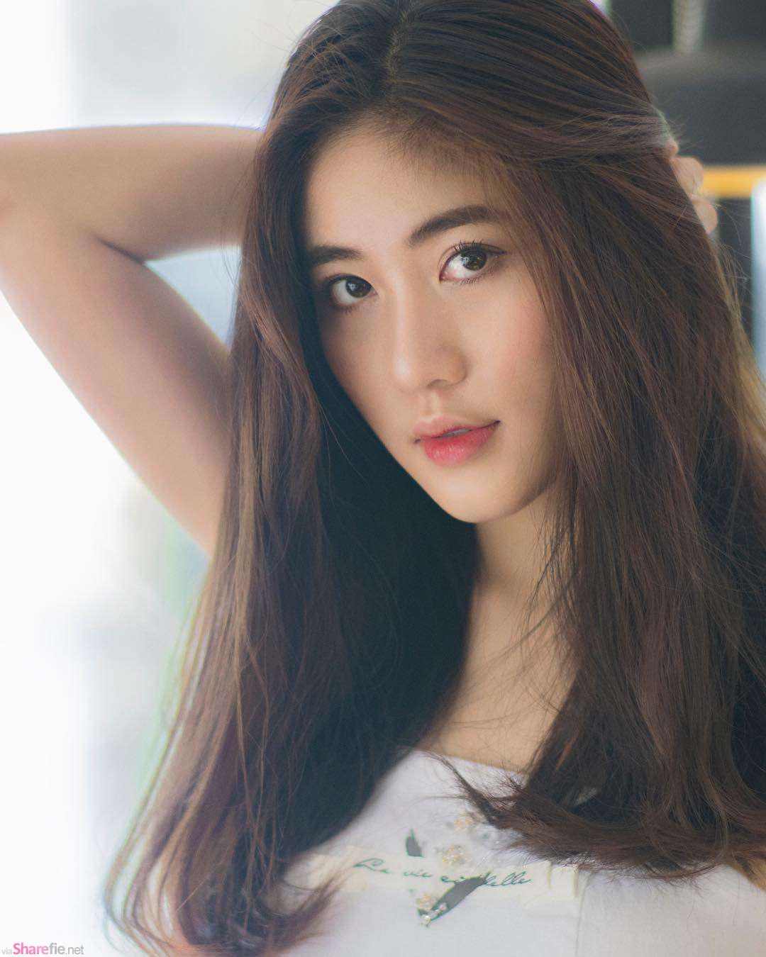 越南清新甜美正妹,身材超正