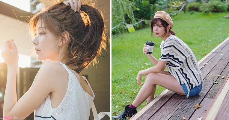 超正摄影师「袋鼠」,气质甜美比摄影女模还美