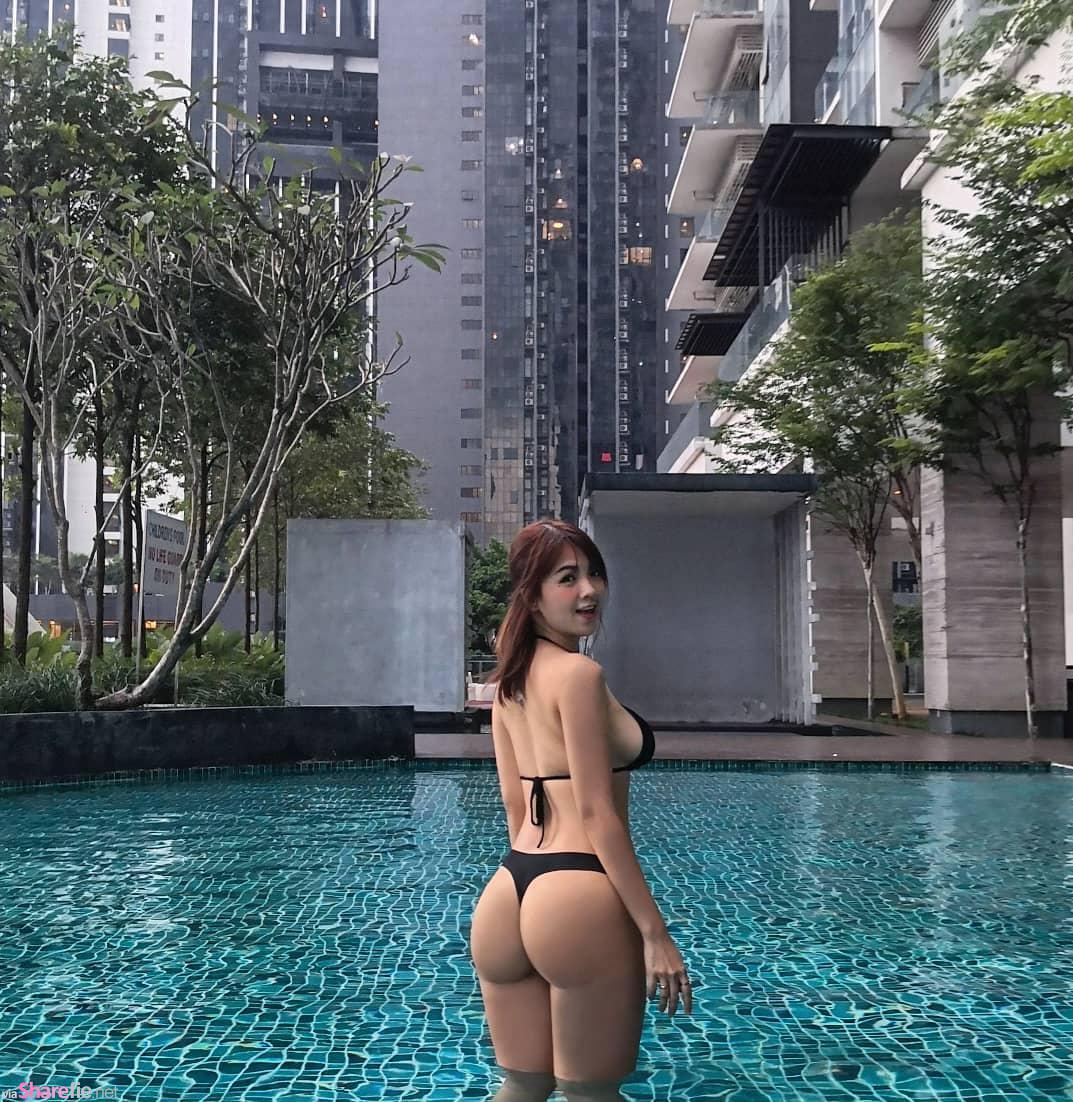 大马正妹Mier,性感写真香港被炒热