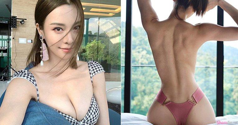 大马正妹李元玲窗前上半身全裸,性感曲线辣翻网友