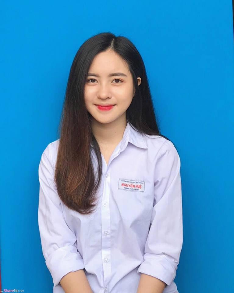 越南正妹Tran Thu Trang,甜美颜值好迷人