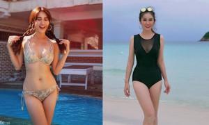 正妹Wan Li阳光笑容,身材S曲线难以忽视的野性美