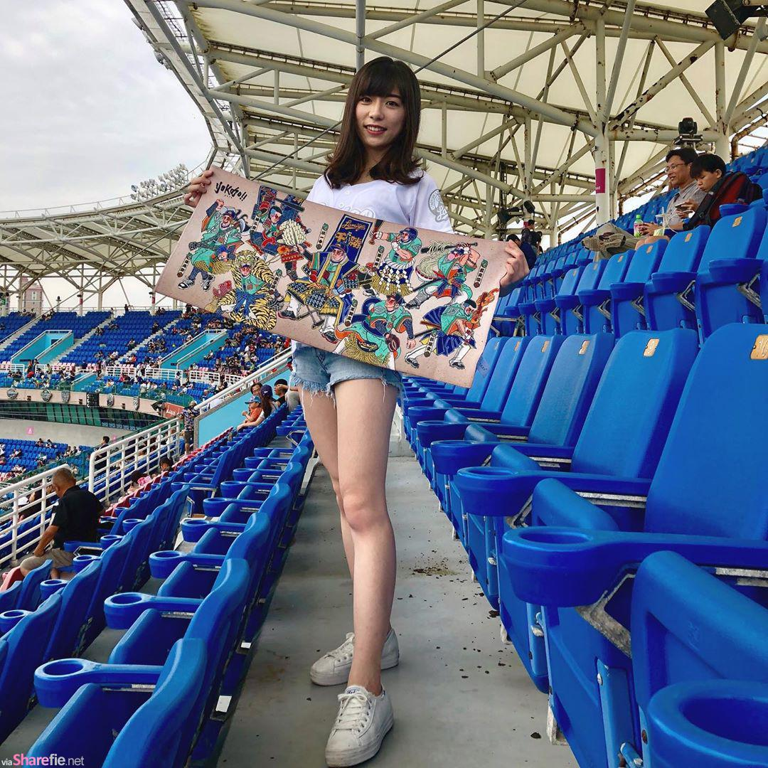 棒球赛惊现超正女球迷,摄影师镜头对她狂拍不停,网:摄影师到底有没有在看球?