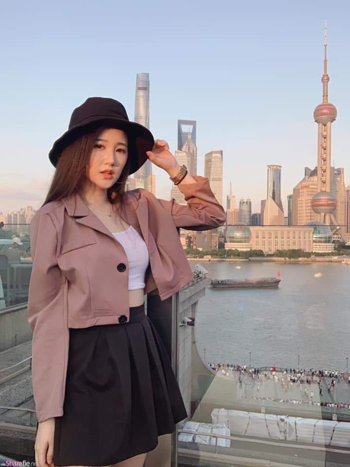 台湾正妹杨家语,比基尼美照赞数飙升,网友:有露有赞