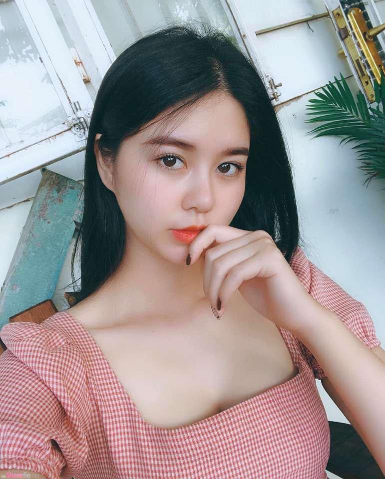 越南正妹Lan Ngoc,穿上民族服装甜美气质让人一秒恋爱