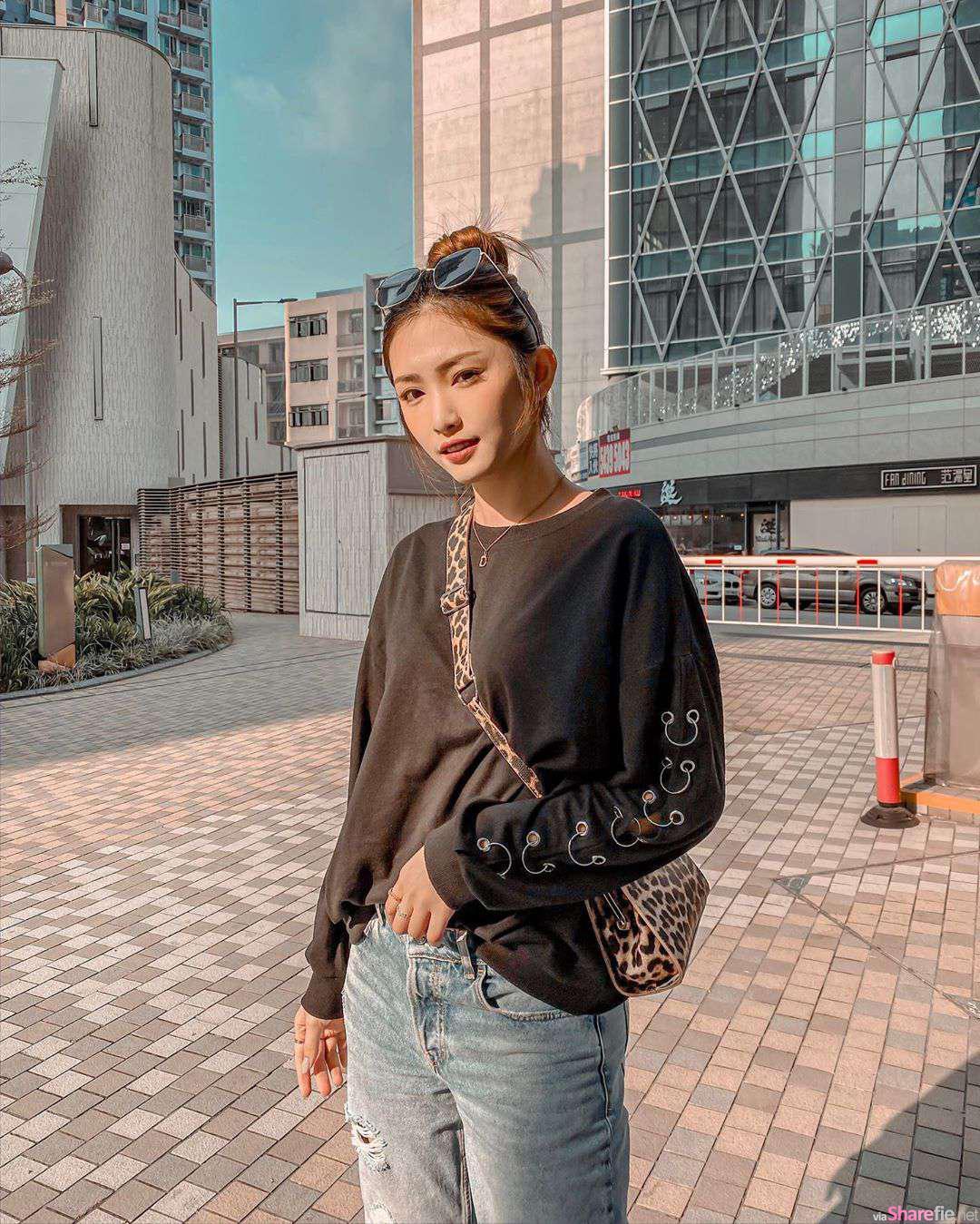 香港正妹郑嘉欣Christine,长腿正妹