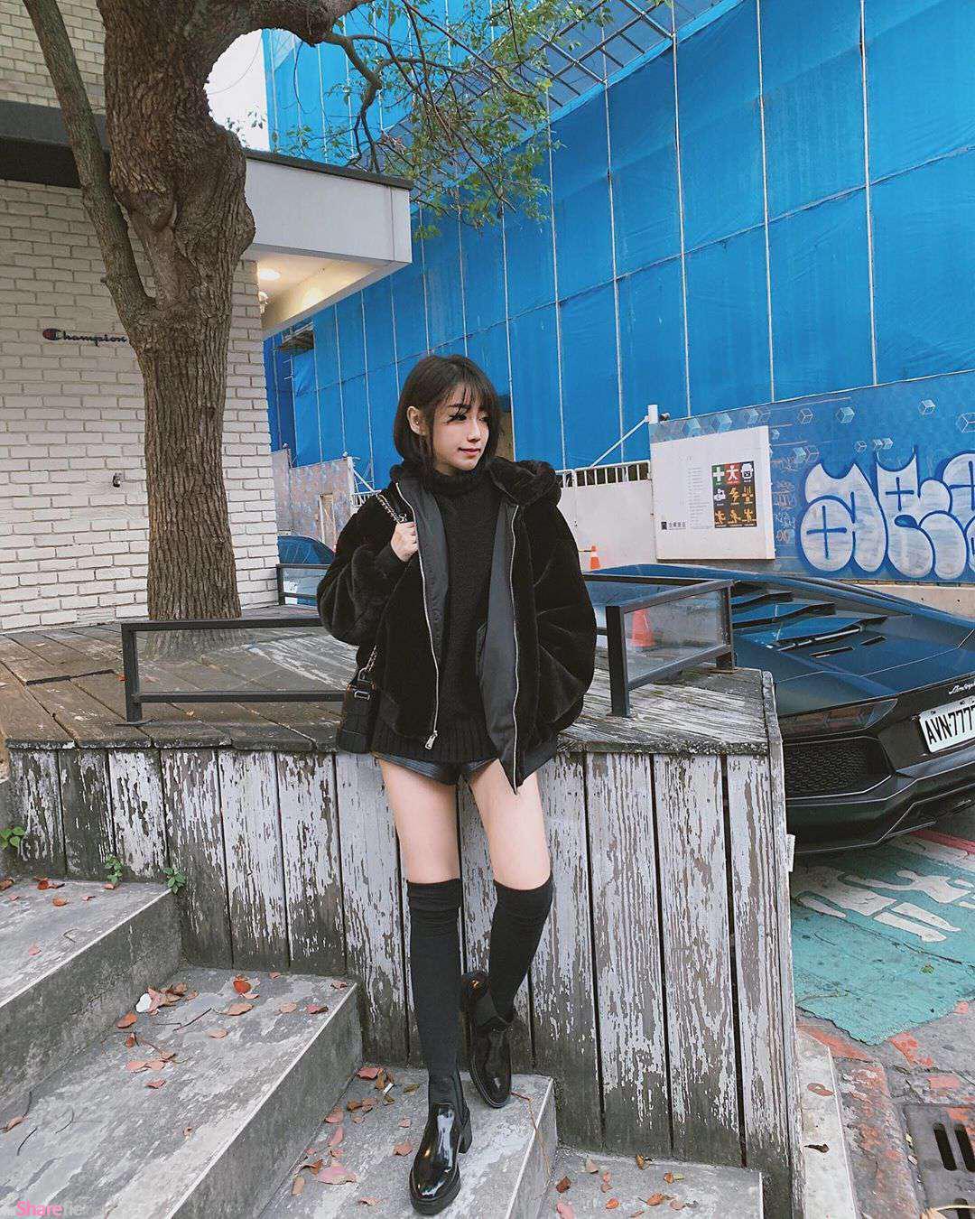 短发正妹Cecilia改变造型,网友赞:我以为是哪国的明星