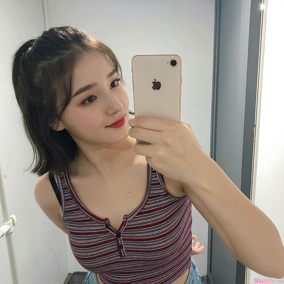 韩国混血歌手Nancy Mcdonie,超美脸型嘟嘴索吻电翻网友