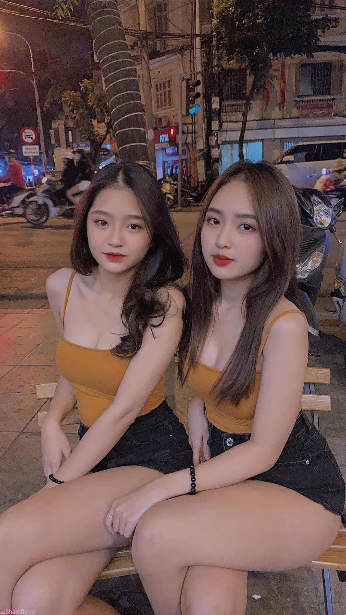 难倒网友的越南正妹选择题,左还是右? 神出左右传送门身材很火辣
