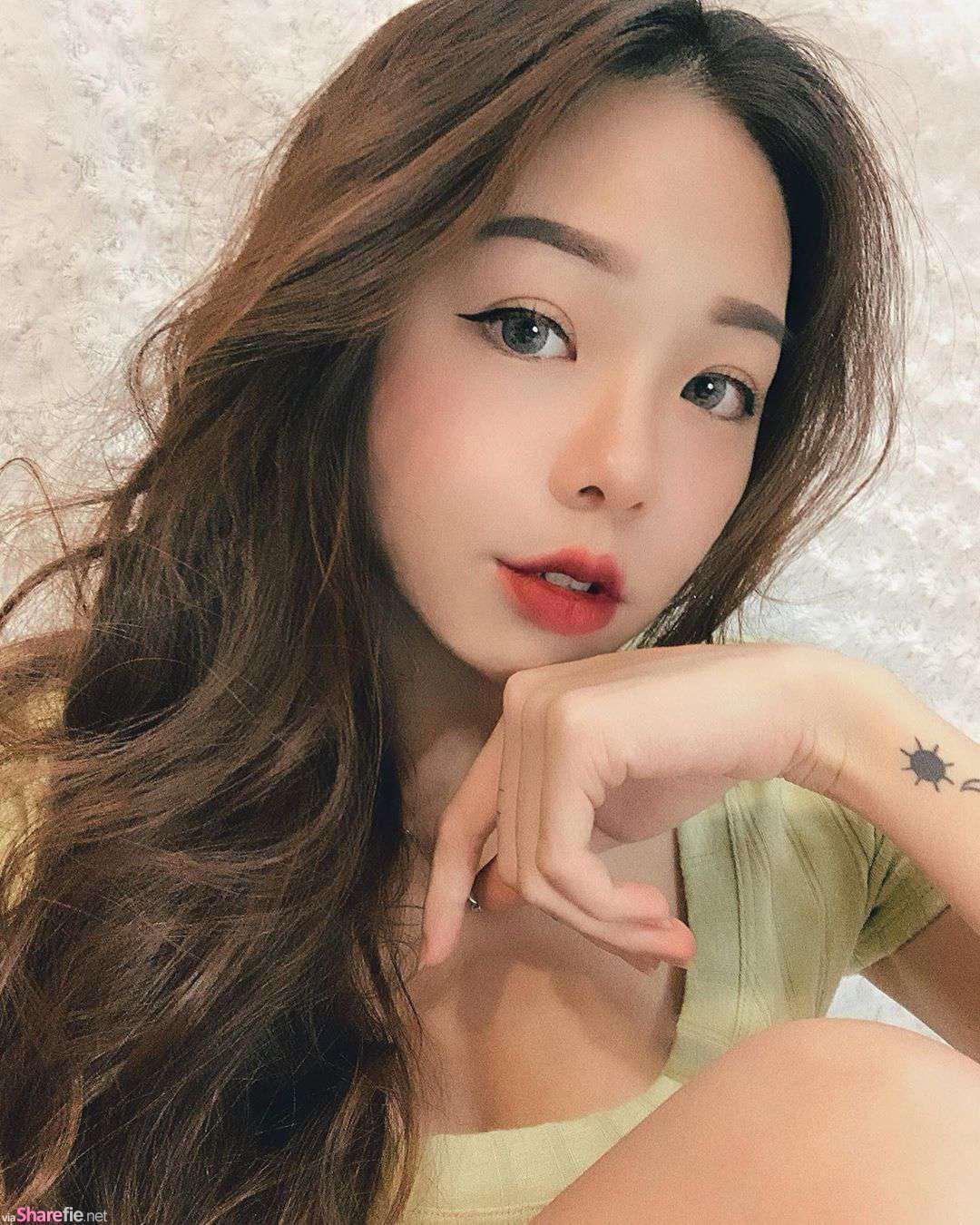 大马超正人妻Jeslyyn Teng,魅力迷人