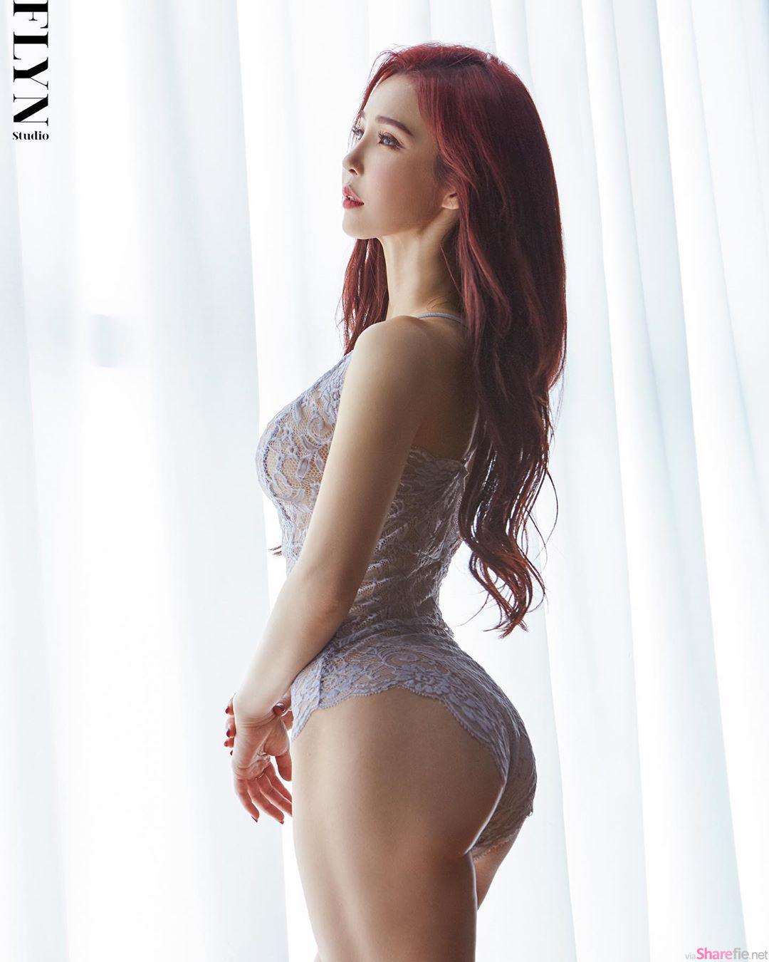 韩国比基尼天使Lee Jina,网友:差点要掉出来