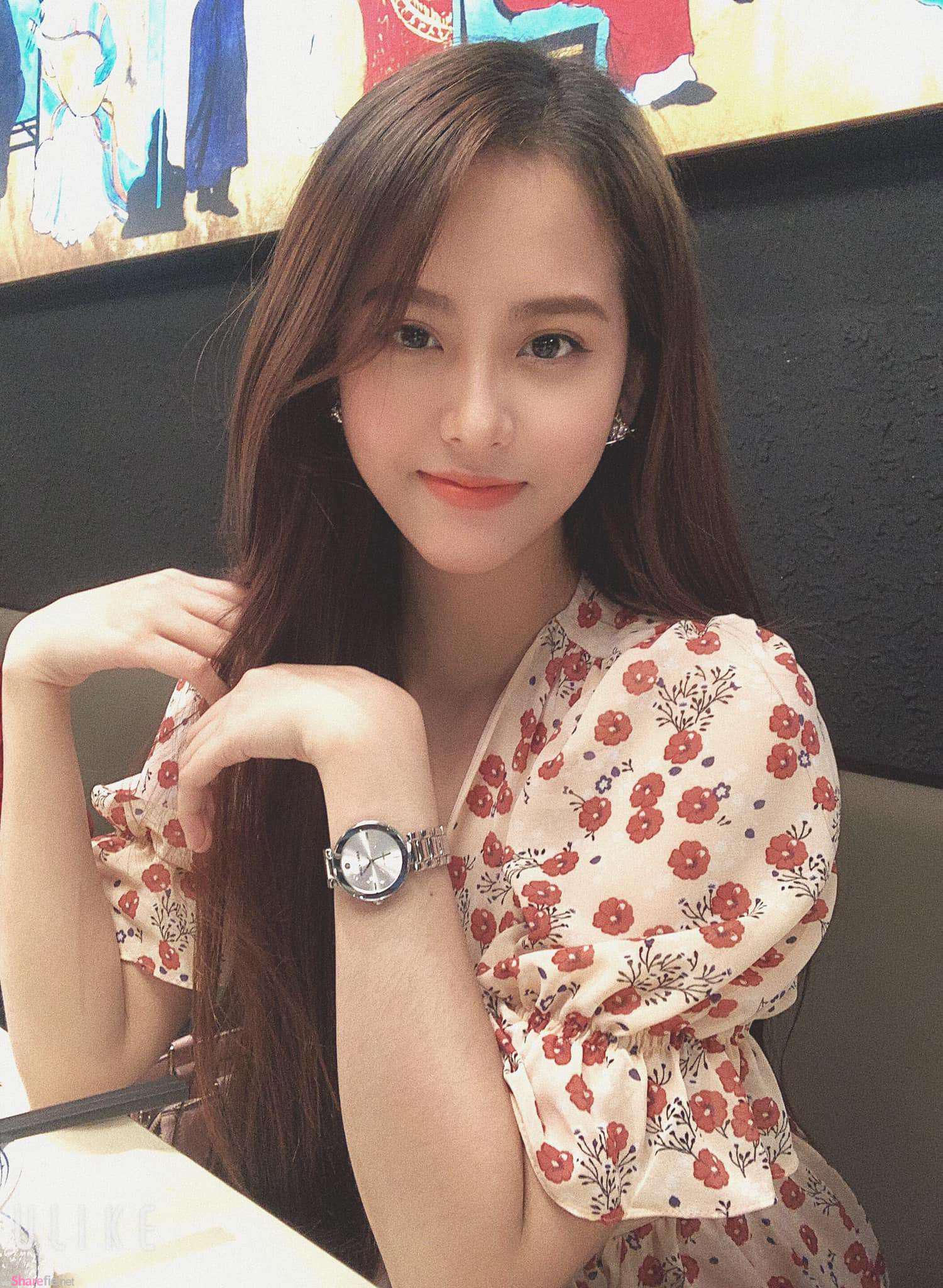 越南正妹Kim Khánh,气质甜美