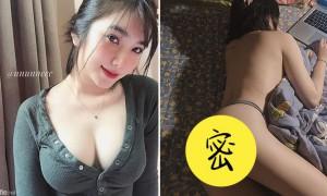 越南正妹ununneee床上裸上身玩电脑,性感曲线网友受不了