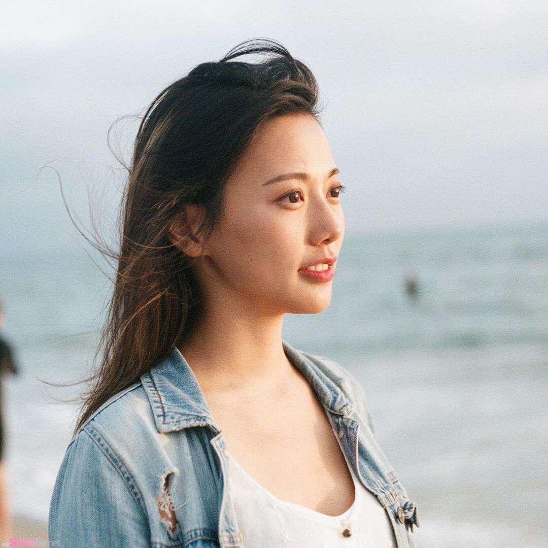 兽医系正妹Iris Wei,甜美动人