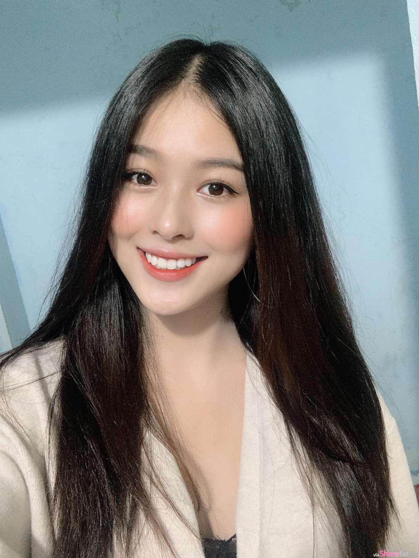 越南气质正妹,美若天仙超迷人