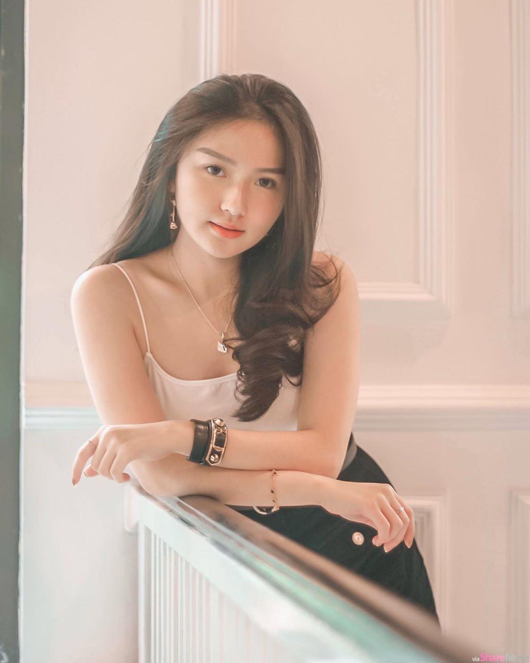 大马正妹Sharren Tan,气质甜美