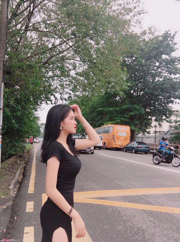 越南正妹Minh Ngọc,甜美气质回头率87分