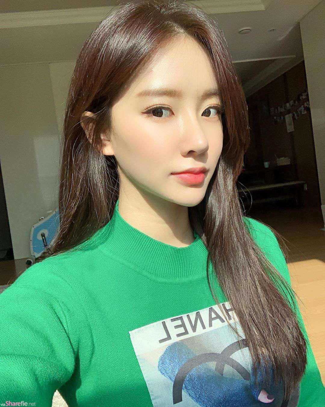 韩国正妹颜值甜美,比基尼让姣好身材完全炸开