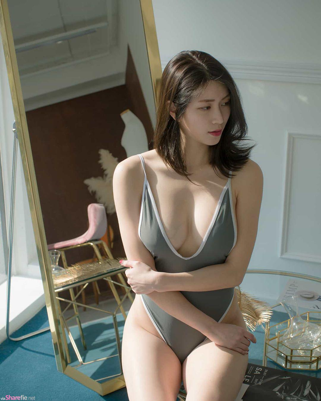 韓國正妹凶猛大只馬,超吸睛視角, 網路正妹美女分享