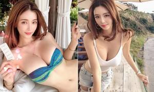 韩国超正部落客,身材曲线性感火辣