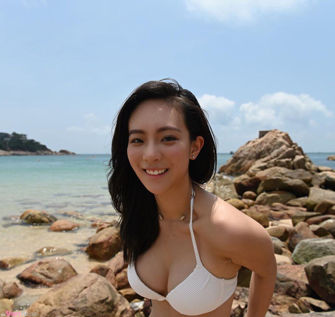香港正妹Rachel,阳光甜美身材曲线迷人一秒让人恋爱