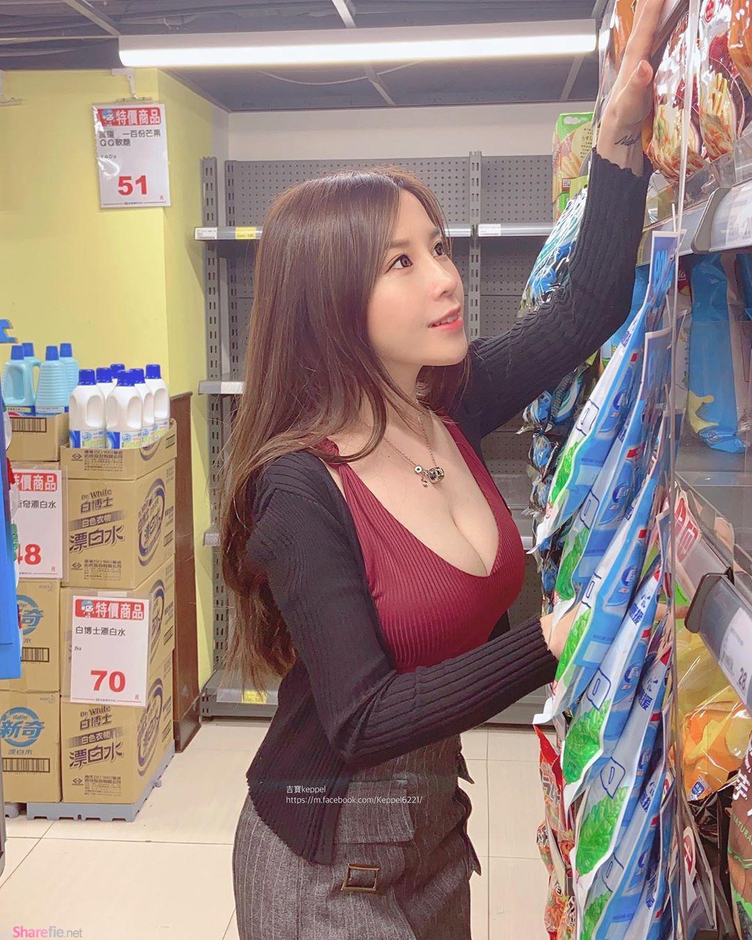 逛超市遇见超凶女生要如何上前搭讪,她:「你长得好像我下一任女朋友」