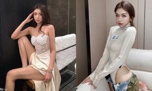 中国海外正妹樱桃,模特性感身材好电人