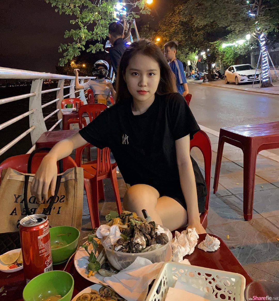 越南网红正妹,甜美火辣