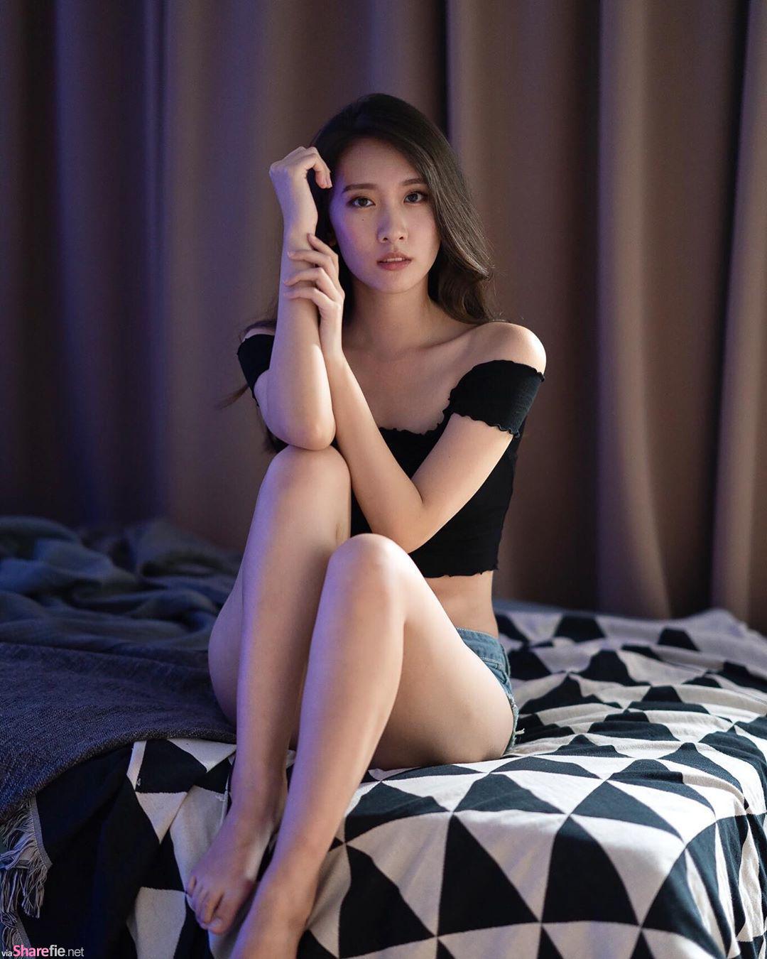 清新正妹微微,唯美写真好迷人