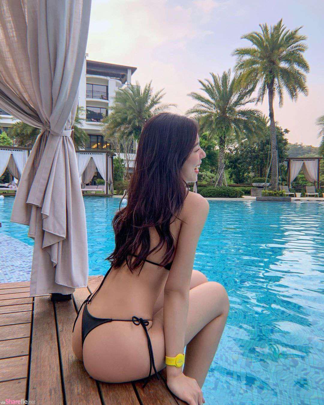 台湾正妹Tiffany 气质甜美,比基尼展现超美曲线