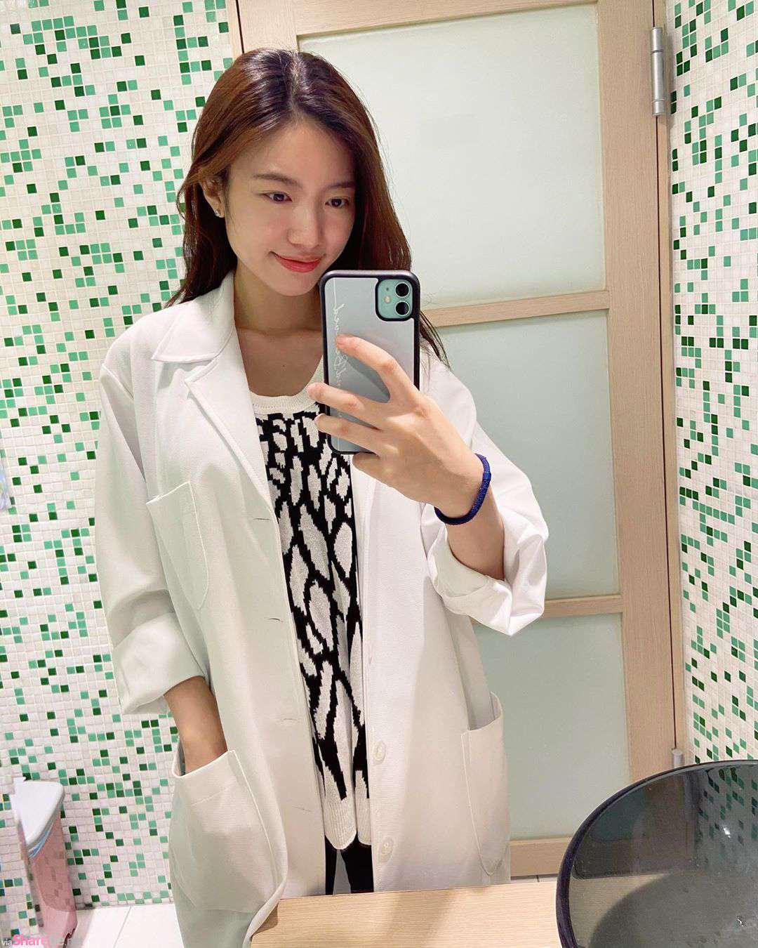 正妹医师Hsuan Wu摇身一变性感女模