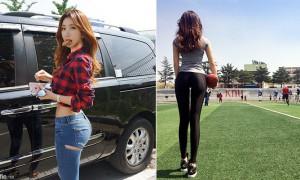韩国体育教练,前凸后翘正到爆