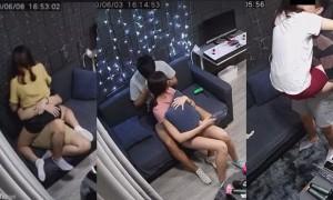 情侣Party Room亲热片段,CCTV性爱镜头遭外流