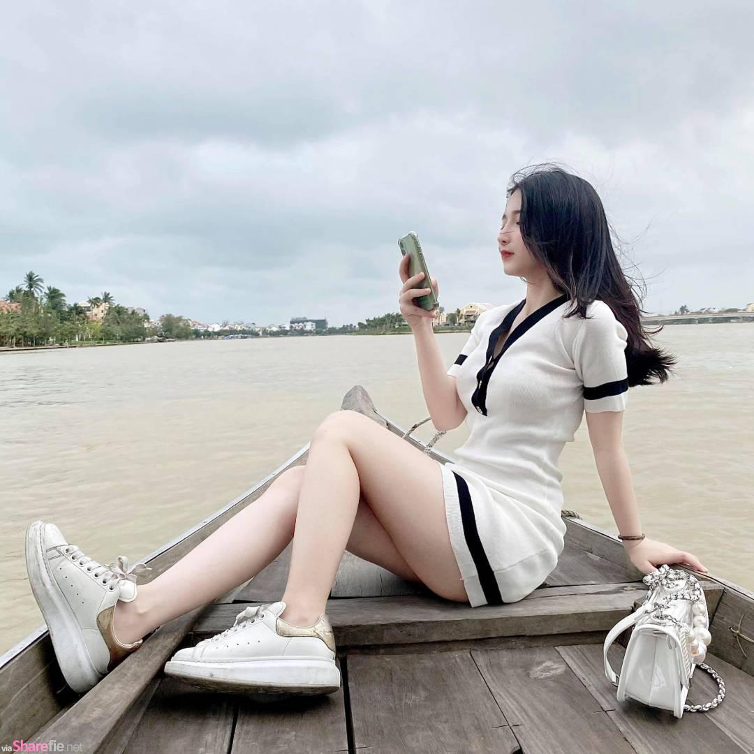 越南正妹微笑掀上衣,畫面超犯規